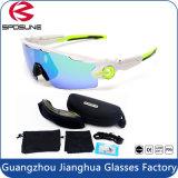 Da lente impermeável preta de Revo do frame do jogo UV400 óculos de proteção de ciclagem de venda quentes com as 5 lentes permutáveis