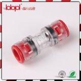 Connecteur de tuyauterie micro droit de Couper/HDPE 12/10mm