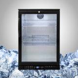 Pequeña puerta del vidrio del refrigerador de la cerveza