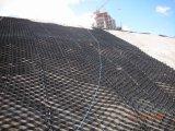 Verstärkung auf niedrigem Cbr Unterbau in den Straßen und im Bahnvorschaltgerät durch Geocell