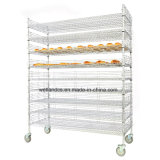 NSF réglable Heavy Duty 500lbs Commercial Metal Wire Rack de pain