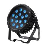 PAR LED DMX nueva prueba de agua al aire libre 14X18W RGBWA + UV para el jardín