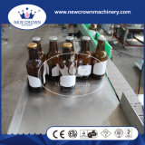 Máquina de etiquetado adhesiva automática de la botella de cristal