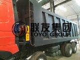주식에 있는 Sinotruk HOWO A7 420HP 8X4 팁 주는 사람 덤프 트럭