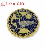 卸売は3Dによって切り取られたデザイン金属のクラフトの硬貨をカスタマイズした