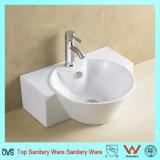Bassin blanc de salle de bains de Chaozhou