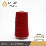 Sakura 120d / 2 100% fio de filamento de poliéster retardador de chamas para bordados