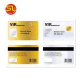 Tarjeta de PVC de plástico membresía VIP con diseño personalizado