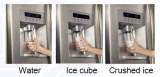 Холодильник типа энергии инвертора a++ с распределителем воды