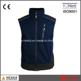 Gilet occasionnel de Softshell Ripstop de Mens de gymnastique