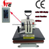 Coréia Shaking Head Heat Press Machine38 * 38cm Manual Swing Away Máquina de transferência de calor de alta pressão Máquina de impressão T-Shirt Stc-SD02