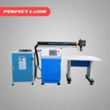 canaleta automática L máquina do meta do alumínio de 220With 300With 400With 450W/aço inoxidável de soldadura do laser da letra