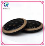 Круглая имитационная деревянная кнопка приспособленная для женщин и человека