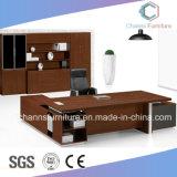 Stilvoller Büro-moderner Entwurfs-Melamin-Ecktisch