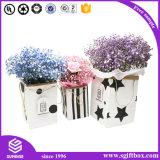 상한 관례에 의하여 재생되는 가죽 포장 꽃 상자