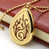 Halsband van uitstekende kwaliteit van de Tegenhanger van het Medaillon van de Charme van het Kristal van de Toebehoren van de Manier de Drijvende