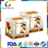 Cadre en plastique à extrémité élevé d'acétate d'animal familier de garantie de qualité pour des produits cosmétiques