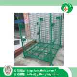 Подгонянная складывая клетка хранения для пакгауза с Ce