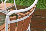 テラスのビストロのレストラン(TG-1292)の椅子を食事する金属をスタックする屋外の庭のためのすべての天候Polywood