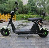 2017 самокат типа Harley электрический с тучными автошинами, самокат города способа