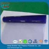 투명한 파란 연약한 PVC 장