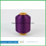 filato del filamento tinto stimolante del poliestere del filato di 150d DTY per merletto