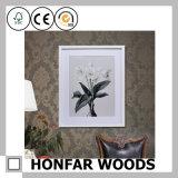 Cadre de tableau en bois noir de cadre d'ombre pour le décor à la maison