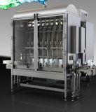 Tipo linear engarrafado automático máquina de etiquetas da máquina de enchimento do petróleo comestível
