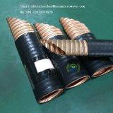 Guide d'ondes elliptique de matériel de rf avec la jupe en caoutchouc