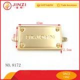 Projetar os Tag conhecidos e as etiquetas dos Tag do metal da liga do zinco para bolsas