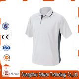 T-shirt fait sur commande de polo de T-shirt de golf de qualité pour les hommes