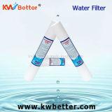 Cartucho de filtro de agua del algodón de los PP para el tratamiento de aguas