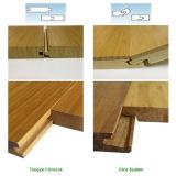 Uso de interior tejido hilo elegante del suelo de bambú del aspecto