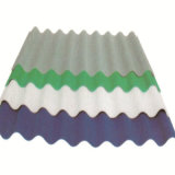 Лист толя пластичного поликарбоната цвета ясности продукта Coated Corrugated