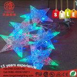 Zeichenkette-Licht des im Freiengarten-dekoratives Stern-6W 10W