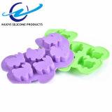 6 прессформа торта силикона качества еды полости 3D