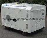Type refroidi à l'air générateur diesel silencieux de Honypower de 4 rappes