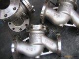 Tipo valvola di ritenuta dell'elevatore dell'acciaio inossidabile di H41W-16p con l'estremità della flangia