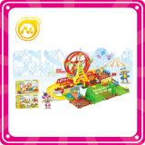 Funny Ferris Wheel Toy Plastic Building Block Toy Train Track