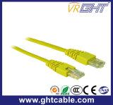 cabo da correção de programa de Al-Magnésio RJ45 UTP Cat5 de 1m/cabo de correção de programa