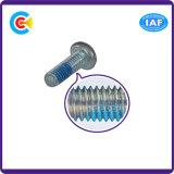 란을%s 가진 잠그개 탄소 강철 Galvanized/M2.3 꽃 또는 Cinquefoil 팬 헤드 나사
