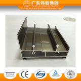 Profil en aluminium de porte coulissante et de guichet de série chaude de la vente Wy-2001c