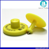 주문을 받아서 만들어지는 RFID UHF 가축 ID를 위한 동물성 귀 꼬리표 인쇄