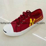 Zapatos clásicos del ocio de los zapatos de lona de la inyección de los hombres (FFZL1101-01)