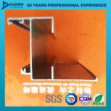 Perfil de aluminio de la puerta de la ventana de aluminio para la serie popular del mercado de África Libia