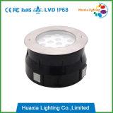 lámpara subterráneo inoxidable del acero LED de 18W 12V/220V