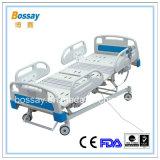 Cama de hospital caliente de las funciones ICU del estándar cinco de la venta FDA