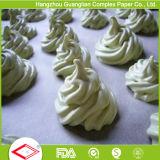 Trazadores de líneas antiadherentes precortados redondos del estaño de la torta del papel de la hornada de 10 pulgadas