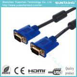 Maschio di HD 15pins al cavo maschio del VGA per il PC