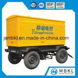 Mobiele Diesel van de Aanhangwagen 75kw-150kw Stille Cummins Generator (facultatieve merken voor motor)